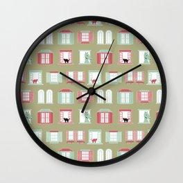 Ventanas Wall Clock