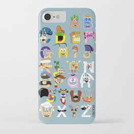 Breakfast Mascot Alphabet iPhone Case