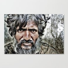 Venkat- The Carpenter who lost his mind Canvas Print