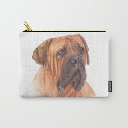 African mastiff colored pencil drawing Carry-All Pouch