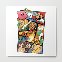 Dairanto Smash Bros Metal Print