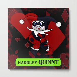 Hardley Quinnt Metal Print