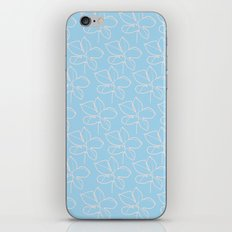 pattern blue iPhone Skin