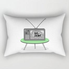 Kapow TV Rectangular Pillow
