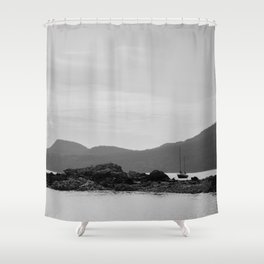 Resting at Orcas Shower Curtain