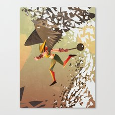 Flying and Hitting Stuff is Awesome Canvas Print