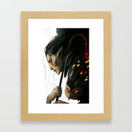 FalonDin Framed Art Print