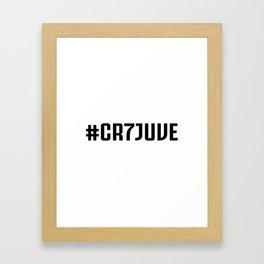 CR7 JuventusCristiano Framed Art Print