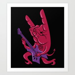 Devil's Rock Art Print