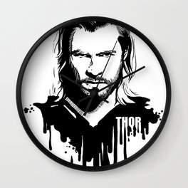 Fandom In Ink » Thor Wall Clock