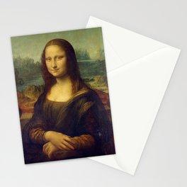 MONA LISA - LEONARDO DA VINCI Stationery Cards