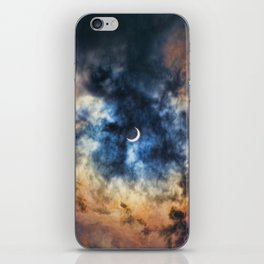 Night Moves - Partial Solar Eclipse iPhone Skin