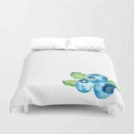Watercolour Blueberry Duvet Cover