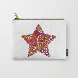 Bright Star Doodle Carry-All Pouch