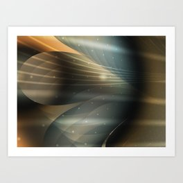 Cosmic Winds Art Print