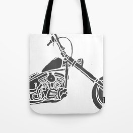 Moto Machina Tote Bag