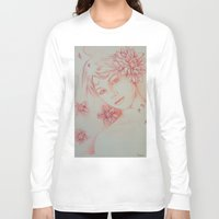 leah flores Long Sleeve T-shirts featuring Flores. by marmaseo