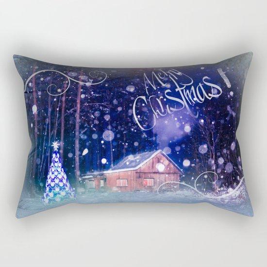 Merry Christmas! Rectangular Pillow