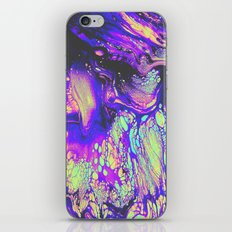 FIRE AND THUD iPhone Skin