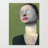 roman Canvas Prints featuring Roman by Guim Tió