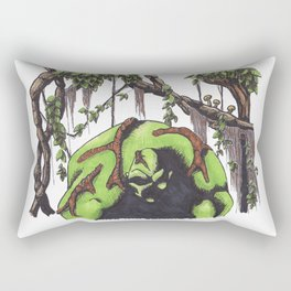 Swamp Thing Rectangular Pillow