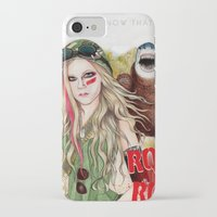 rock n roll iPhone & iPod Cases featuring ROCK N ROLL by ●•VINCE•●