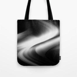 DREAM PATH (Black & Grays) Tote Bag