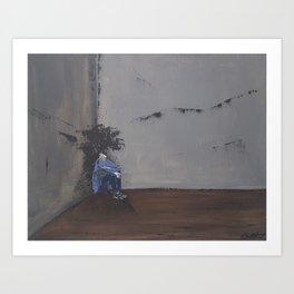 Paralyzed Art Print