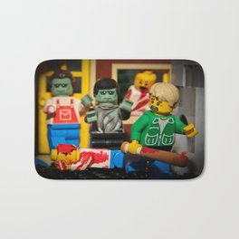 Night of the Lego Dead Bath Mat