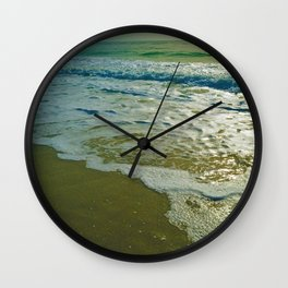 Looking towards the Gulf of Mexico on Little Gasparilla Island, Florida USA Wall Clock