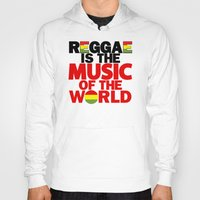 reggae Hoodies featuring Reggae Music by Ahfimi Brands