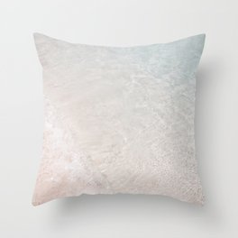 Translucent Ocean Waters Throw Pillow