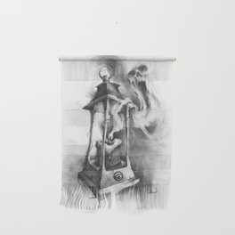 The Black Candle Wall Hanging