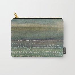 Landscape Dots- Blue Carry-All Pouch