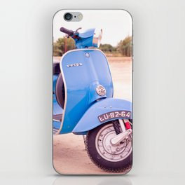 Mod Style in Blue iPhone Skin