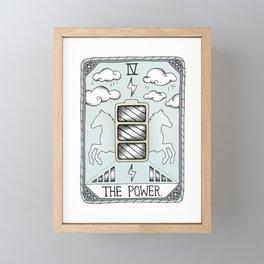 The Power Framed Mini Art Print