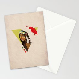 Indian Triangle Stationery Cards