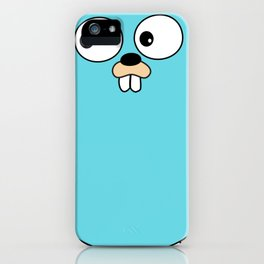 Gopher - Golang iPhone Case