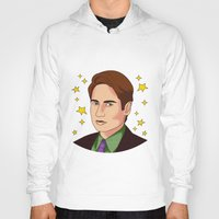 mulder Hoodies featuring Mulder Yes by fin apollo