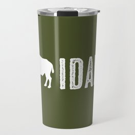 Bison: Idaho Travel Mug