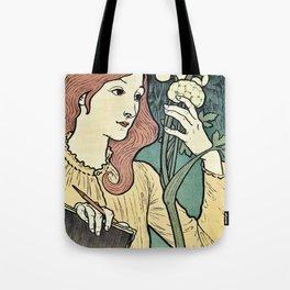 Salon des Cent 1894 Eugene Grasset Tote Bag