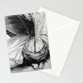 Metamorphosis // charcoal  Stationery Cards