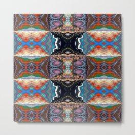 Vibrational Pattern 3 Metal Print