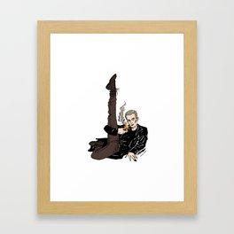 Leggy Spike Framed Art Print