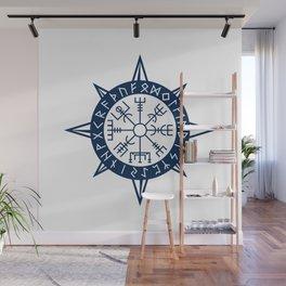 Vegvisir Viking Compass Wall Mural
