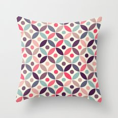 Batik Kawung Throw Pillow