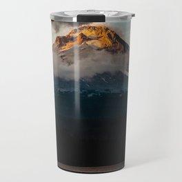 Mt. Hood at Sunset Travel Mug