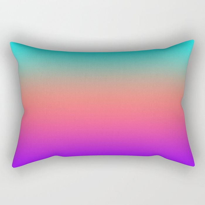 Sunset shades on the sea Rectangular Pillow