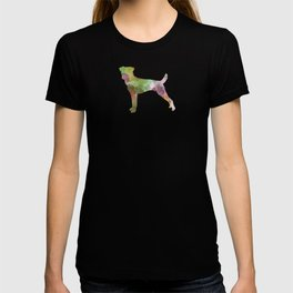 Parson Russell Terrier in watercolor T-shirt