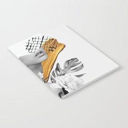 collage art (girl) Notebook